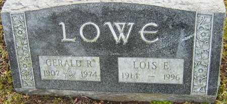 LOWE, LOIS E - Franklin County, Ohio   LOIS E LOWE - Ohio Gravestone Photos