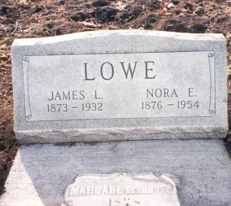 LOWE, NORA E. - Franklin County, Ohio | NORA E. LOWE - Ohio Gravestone Photos