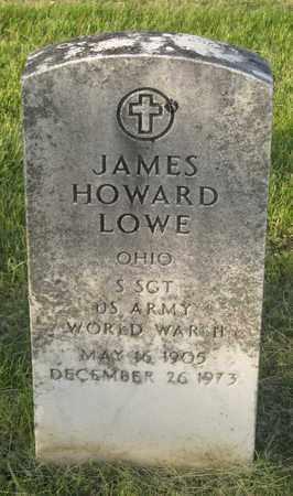 LOWE, JAMES HOWARD - Franklin County, Ohio | JAMES HOWARD LOWE - Ohio Gravestone Photos