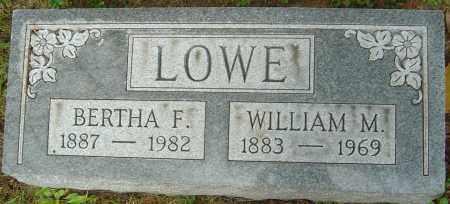 LOWE, BERTHA F - Franklin County, Ohio   BERTHA F LOWE - Ohio Gravestone Photos
