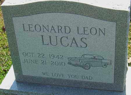 LUCAS, LEONARD LEON - Franklin County, Ohio   LEONARD LEON LUCAS - Ohio Gravestone Photos