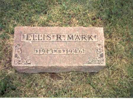 MARK, ELLIS R. - Franklin County, Ohio | ELLIS R. MARK - Ohio Gravestone Photos
