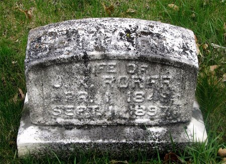 MARY, RORER - Franklin County, Ohio | RORER MARY - Ohio Gravestone Photos