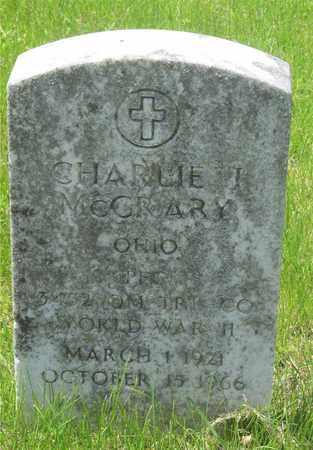 MCCRARY, CHARLIE J. - Franklin County, Ohio | CHARLIE J. MCCRARY - Ohio Gravestone Photos