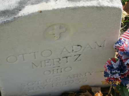 MERTZ, OTTO ADAM - Franklin County, Ohio | OTTO ADAM MERTZ - Ohio Gravestone Photos