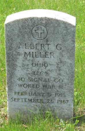 MILLER, ALBERT G. - Franklin County, Ohio | ALBERT G. MILLER - Ohio Gravestone Photos