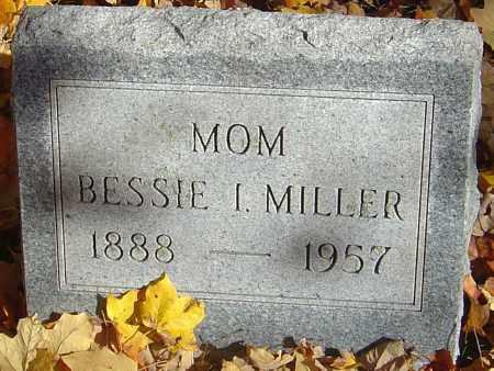 MILLER, BESSIE I - Franklin County, Ohio | BESSIE I MILLER - Ohio Gravestone Photos