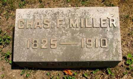 MILLER, CHAS F. - Franklin County, Ohio   CHAS F. MILLER - Ohio Gravestone Photos