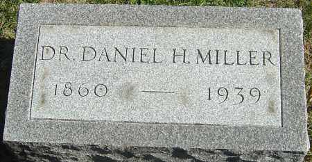 MILLER, DANIEL H - Franklin County, Ohio   DANIEL H MILLER - Ohio Gravestone Photos