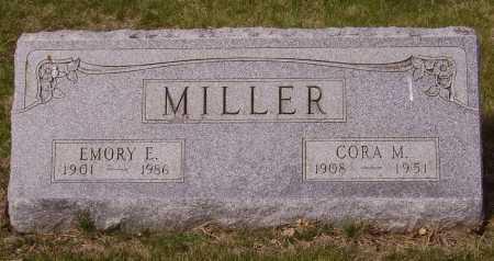 MILLER, CORA M. - Franklin County, Ohio | CORA M. MILLER - Ohio Gravestone Photos