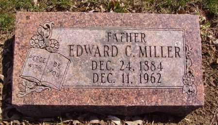 MILLER, EDWARD C. - Franklin County, Ohio | EDWARD C. MILLER - Ohio Gravestone Photos