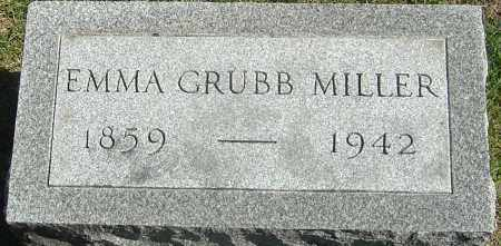 MILLER, EMMA - Franklin County, Ohio   EMMA MILLER - Ohio Gravestone Photos