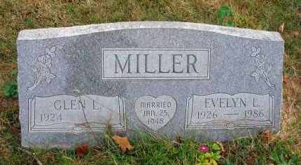 MILLER, EVELYN L. - Franklin County, Ohio   EVELYN L. MILLER - Ohio Gravestone Photos