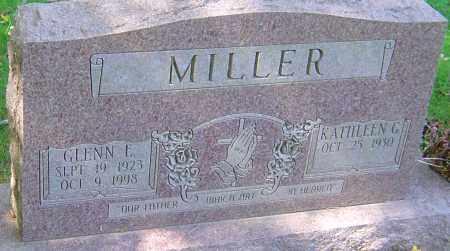 MILLER, GLENN E - Franklin County, Ohio   GLENN E MILLER - Ohio Gravestone Photos