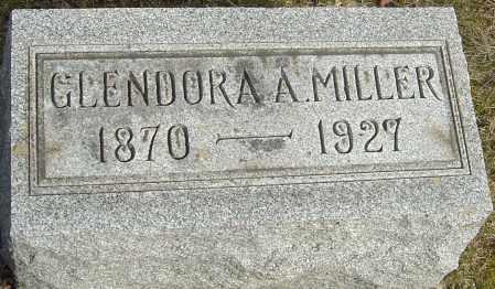 MILLER, GLENDORA A - Franklin County, Ohio | GLENDORA A MILLER - Ohio Gravestone Photos