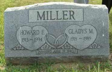 JUSTUS MILLER, GLADYS - Franklin County, Ohio   GLADYS JUSTUS MILLER - Ohio Gravestone Photos