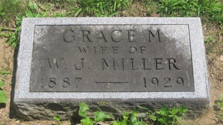 HUGHES MILLER, GRACE M. - Franklin County, Ohio | GRACE M. HUGHES MILLER - Ohio Gravestone Photos