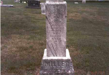 MILLER, HATTIE D. - Franklin County, Ohio   HATTIE D. MILLER - Ohio Gravestone Photos