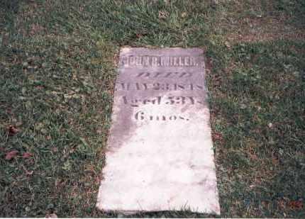 MILLER, JOHN R. - Franklin County, Ohio | JOHN R. MILLER - Ohio Gravestone Photos