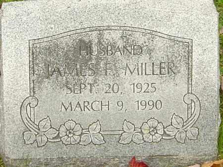 MILLER, JAMES F - Franklin County, Ohio | JAMES F MILLER - Ohio Gravestone Photos