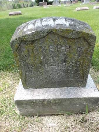 MILLER, JOSEPH R. - Franklin County, Ohio   JOSEPH R. MILLER - Ohio Gravestone Photos