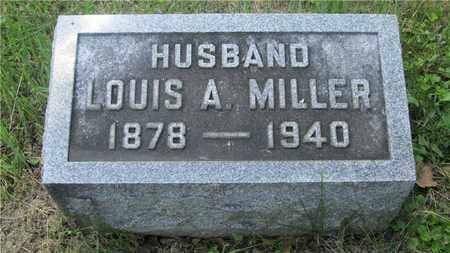 MILLER, LOUIS A. - Franklin County, Ohio   LOUIS A. MILLER - Ohio Gravestone Photos