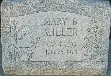 MILLER, MARY B - Franklin County, Ohio   MARY B MILLER - Ohio Gravestone Photos