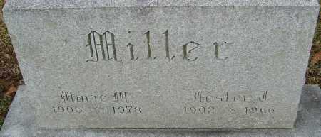 MILLER, LESTER F - Franklin County, Ohio | LESTER F MILLER - Ohio Gravestone Photos
