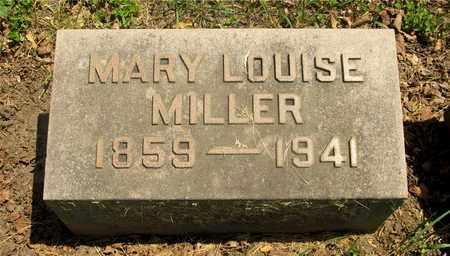 MILLER, MARY LOUISE - Franklin County, Ohio   MARY LOUISE MILLER - Ohio Gravestone Photos