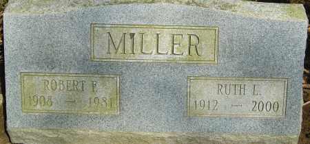 MILLER, ROBERT F - Franklin County, Ohio | ROBERT F MILLER - Ohio Gravestone Photos