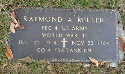 MILLER, RAYMOND A. - Franklin County, Ohio | RAYMOND A. MILLER - Ohio Gravestone Photos