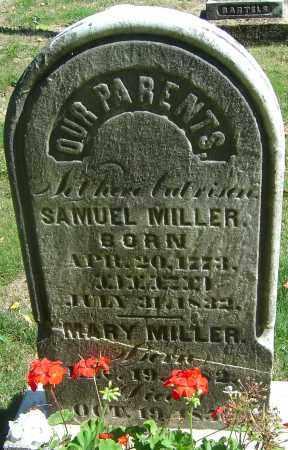 MILLER, MARY - Franklin County, Ohio | MARY MILLER - Ohio Gravestone Photos