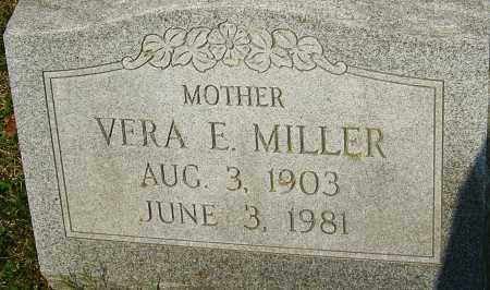MILLER, VERA E - Franklin County, Ohio   VERA E MILLER - Ohio Gravestone Photos