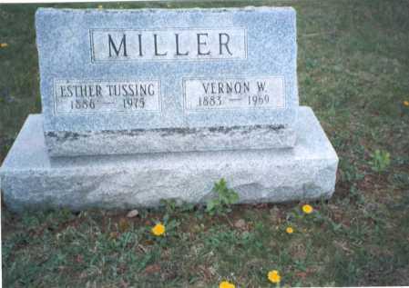 MILLER, ESTHER - Franklin County, Ohio | ESTHER MILLER - Ohio Gravestone Photos