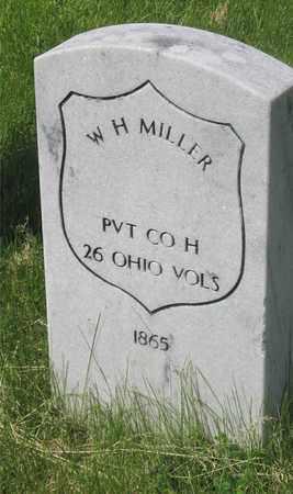 MILLER, W. H. - Franklin County, Ohio   W. H. MILLER - Ohio Gravestone Photos