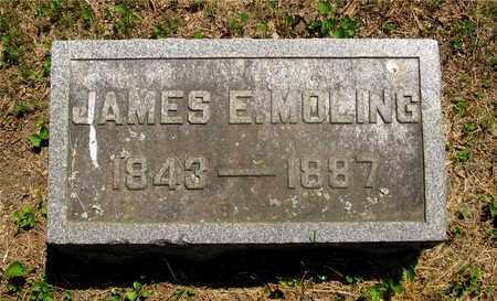 MOLING, JAMES E. - Franklin County, Ohio | JAMES E. MOLING - Ohio Gravestone Photos