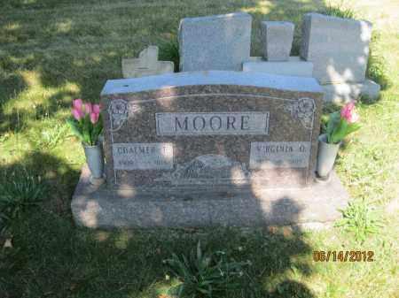 MOORE, VIRGINIA OPAL - Franklin County, Ohio | VIRGINIA OPAL MOORE - Ohio Gravestone Photos