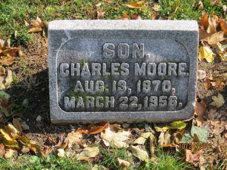 MOORE, CHARLES - Franklin County, Ohio | CHARLES MOORE - Ohio Gravestone Photos