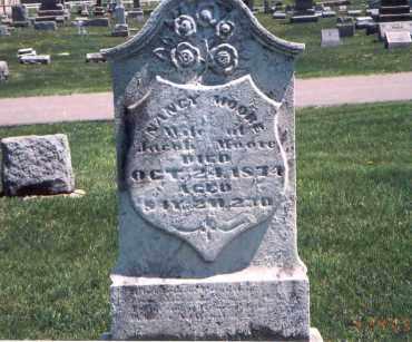 MOORE, NANCY - Franklin County, Ohio | NANCY MOORE - Ohio Gravestone Photos