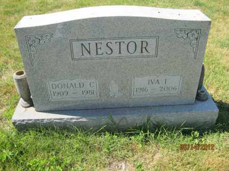 NESTOR, DONALD CLAUDE - Franklin County, Ohio | DONALD CLAUDE NESTOR - Ohio Gravestone Photos