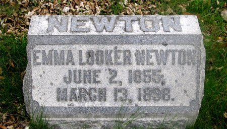 LOOKER NEWTON, EMMA - Franklin County, Ohio | EMMA LOOKER NEWTON - Ohio Gravestone Photos