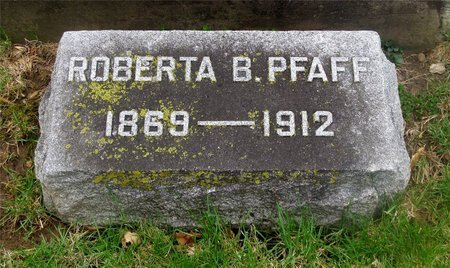 BUNNELL PFAFF, ROBERTA - Franklin County, Ohio | ROBERTA BUNNELL PFAFF - Ohio Gravestone Photos