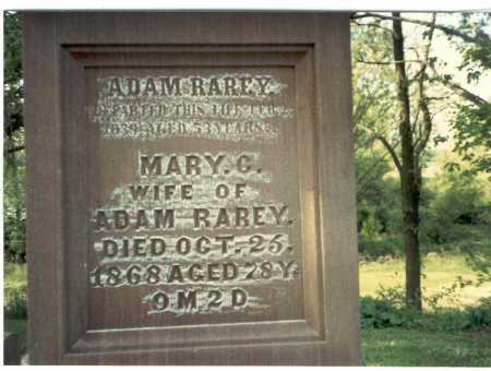 RAREY, MARY C. - Franklin County, Ohio | MARY C. RAREY - Ohio Gravestone Photos