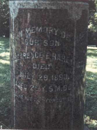 RAREY, CLARENCE E. - Franklin County, Ohio   CLARENCE E. RAREY - Ohio Gravestone Photos