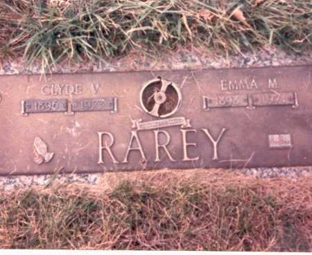 RAREY, CLYDE V. - Franklin County, Ohio | CLYDE V. RAREY - Ohio Gravestone Photos