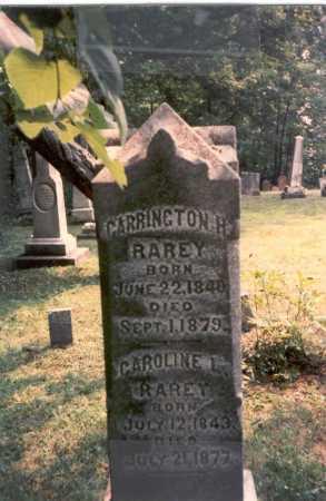 CLARK RAREY, CAROLINE L. - Franklin County, Ohio | CAROLINE L. CLARK RAREY - Ohio Gravestone Photos