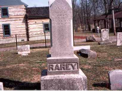 RAREY, ELIZA - Franklin County, Ohio | ELIZA RAREY - Ohio Gravestone Photos