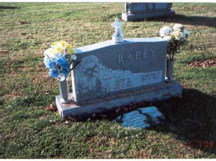 RAREY, CHARLENE E. - Franklin County, Ohio | CHARLENE E. RAREY - Ohio Gravestone Photos