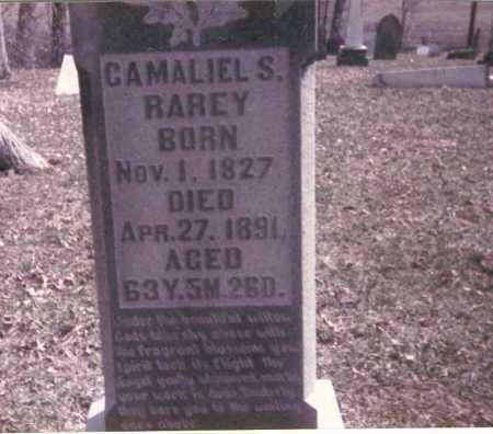 RAREY, GAMALIEL S. - Franklin County, Ohio | GAMALIEL S. RAREY - Ohio Gravestone Photos