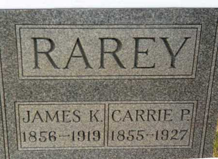 RAREY, JAMES K. - Franklin County, Ohio   JAMES K. RAREY - Ohio Gravestone Photos